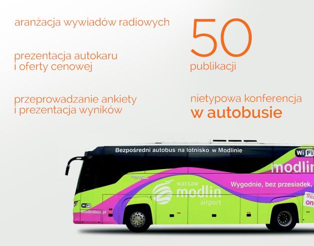 Konferencja w autobusie